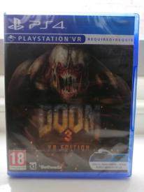 DOOM 3 (VR EDITION) PS4 (BRAND NEW/SEALED)