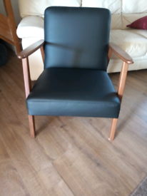 Ikea Ekenaset leather armchair