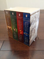 A Game of Thrones 4-Book Boxed Set (NEW)