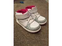 Infants girls Nike Jordan limited edition 4.5