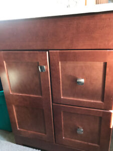 "Complete 30"" bathroom Vanity cabinet/sink"