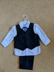 12 mnth boy's suit- brand new