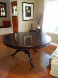 Round Dining Table From Chintz