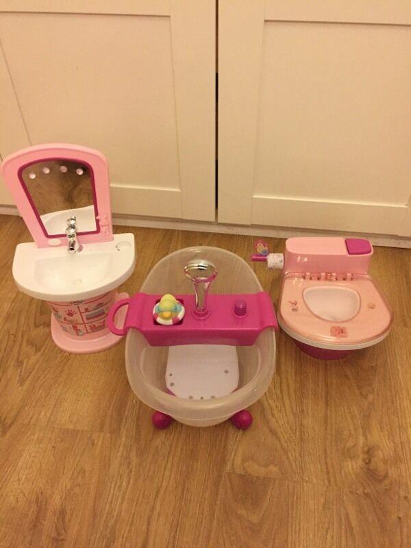 Baby born sink, bath & toilet   in Pontypridd, Rhondda Cynon Taf ...