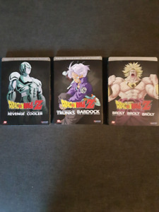 Dragonball steelbook movies.