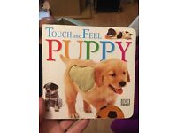 Touch and feel puppy book