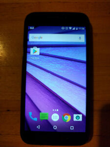 Moto G3 Excellent Condition - No scratches/dents Kitchener / Waterloo Kitchener Area image 1