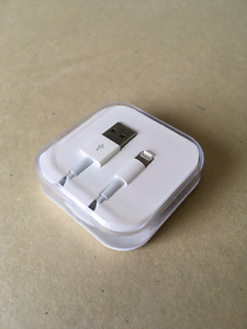New Lightning cable for iPhone