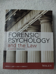 Forensic Psychology and the law - Wiley