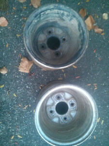 Rear set of ATV rims ONLY Cambridge Kitchener Area image 3