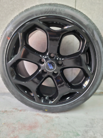 """Genuine Ford Focus St250 Mk3 18"""" Alloy Wheels with Tyres"""
