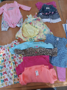Baby Girl Clothes- 6-9 months