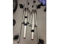 Roof bars and two cycle carriers