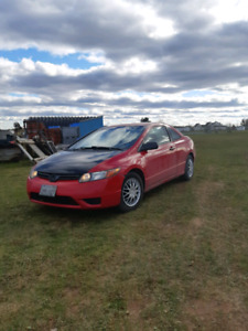 2007 Honda Civic Dx Coupe 5 speed