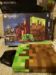 Limited Edition Minecraft Xbox One S