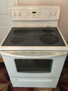 frigidaire glass top stove for sale