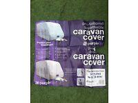 New caravan cover