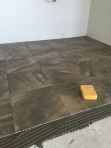 TILE INSTALLATION AT A GREAT PRICE!!