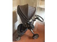 Stokke Explory Pushchair Pram Stroller
