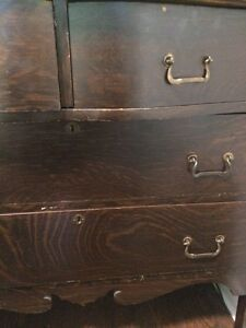 Antique Dove Tail Built Dresser Peterborough Peterborough Area image 4