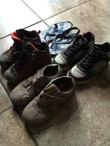 Boys Lot size 12 sneakers. A steal!
