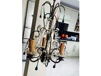 Beautiful antique chandelier (as good as new)