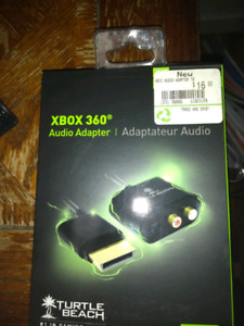 Xbox 360 Turtle Beach Audio Adapter