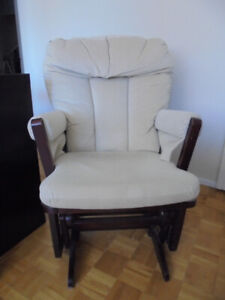 Glider chair - excellent for nursery