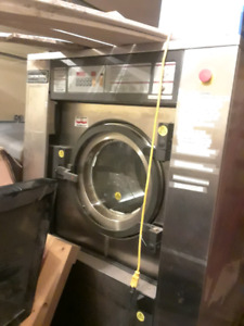 50 lb commercial programmable washer hotel or laundromat