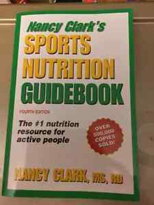 Book - Sports Nutrition Handbook Kitchener / Waterloo Kitchener Area image 1