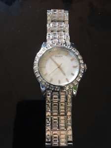 New DKNY watch with baguettes