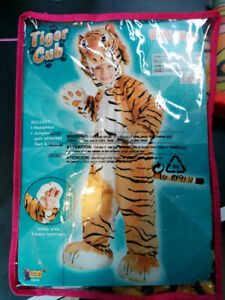 Tiger Cub Costume Child Small 4 - 6 years old