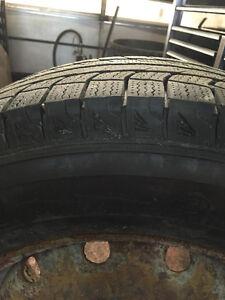 4 pneus d'hiver Michelin Lattitude 215/70R16