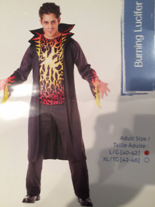 Halloween Lucifer costume