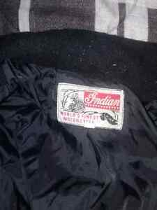 Indian motorcycle  jacket it is a large and is not leather Cambridge Kitchener Area image 2