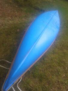 (2) Lightweigh Fibreglas canoes