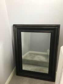Large modern Vintage look mirror