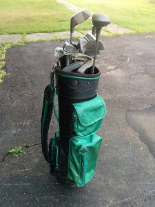 Golf Kit and Bag