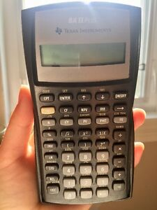 BA II Plus Texas Instruments Calculator