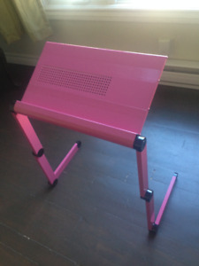 laptop stand with adjustable folding