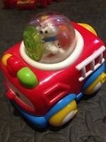 Fisher Price - Fire Truck with rolling ball and dog