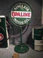 Vintage Originale Enseign Sinclair Lollipop Sign