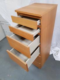 IKEA Oak effect bedroom furniture