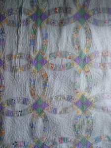 Hand-Stitched Quilt from circa the 1930's North Shore Greater Vancouver Area image 2