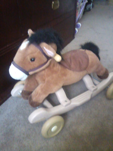 Rocking or rolling horse