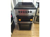 *****Beko silver 50cm cermaic top cooker*****£15 Off***Free Delivery*Fitting*Removal