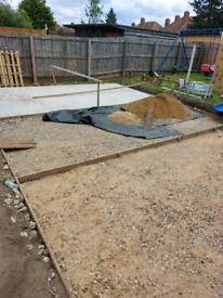 Concrete slab/ base