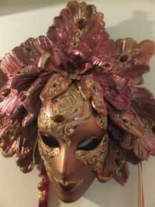 UNUSUAL DECORATOR WALL MASK FROM VENICE, ITALY