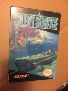 Selling Silent service NES Nintendo game