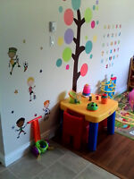 Part time/full time childcare available in Quispamsis